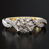 Twist Engagement ring 002