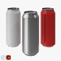 3D drink can