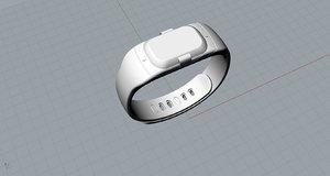 3D original older smartband design model