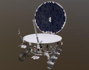 3D lunokhod 1