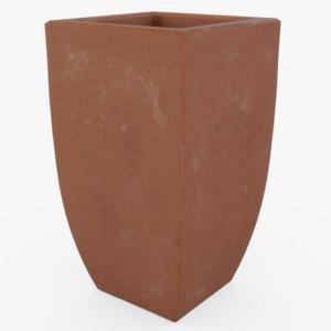 clay flower model
