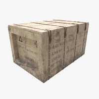 3D military box
