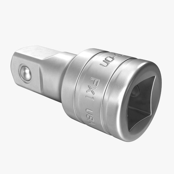3D socket tool fx1 x model