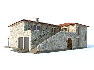 3D villa style