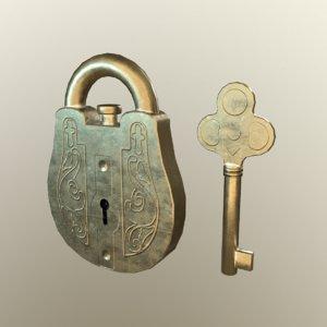 3D lock old