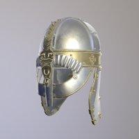 3D youth pendant viking model