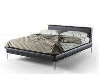 3D model charles bed
