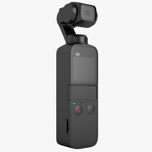 dji osmo pocket 3D