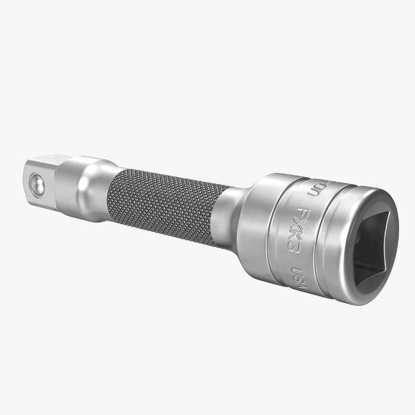 3D socket tool fxk3 3 model
