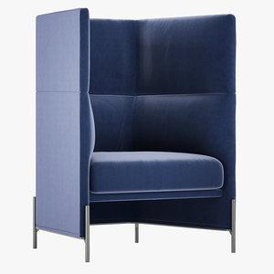 3D nichetto studio algon chair- model