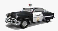 Fifties Sheriff Car