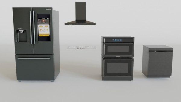 smart kitchen 3D model