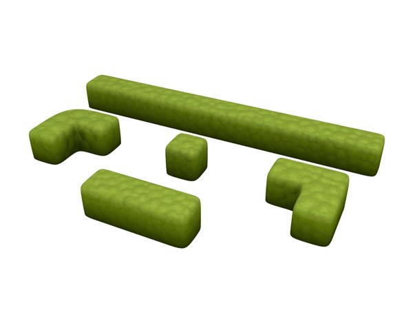 hedge cartoon 3D