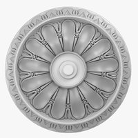 Rose Ceiling Medallion M104