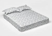 3D set matrass 2 pillows