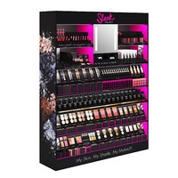 3D sleek makeup retail display model