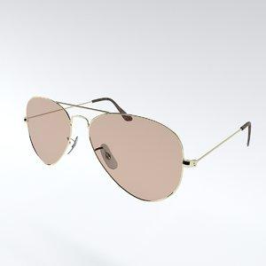3D model glasses sunglasses