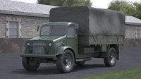 3D model truck ii