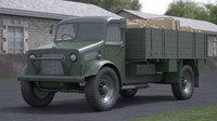 truck ii loaded 3D