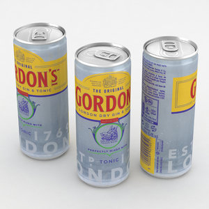 alcohol 3D model