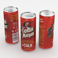 3D cola alcohol