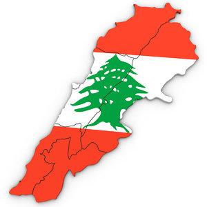 3D model lebanon political