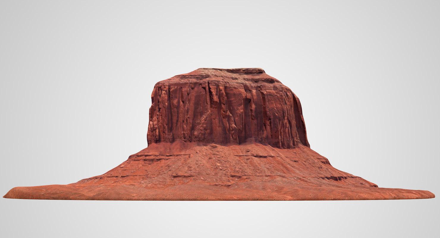 sandstone butte 4 model