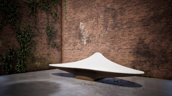 serial furniture 3D