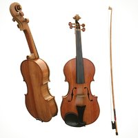 Violin fiddle wood