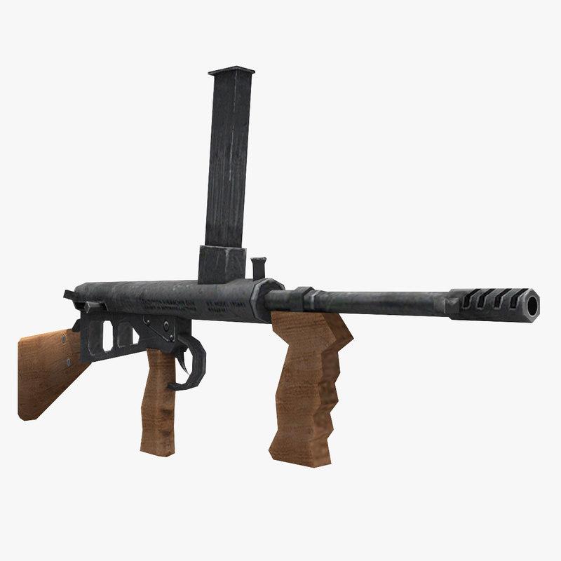3D owen gun
