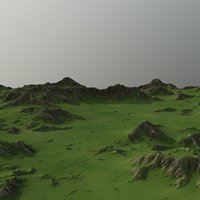 land landscape scape 3D model