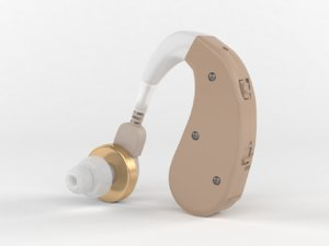 3D mini portable hearing aid