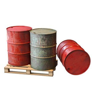 barrel fuel 3D model