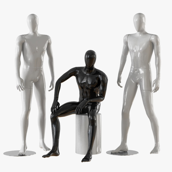 male mannequins model