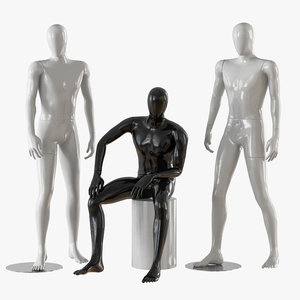 male mannequins model