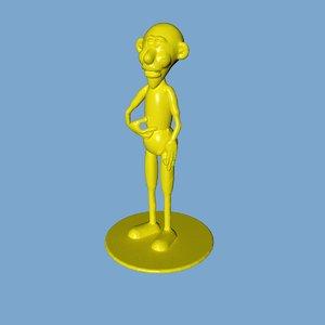 barack3dprint stl cura 3D model