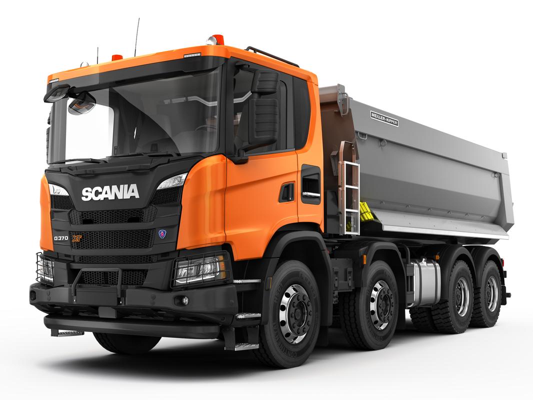 scania xt 8x4 3D model