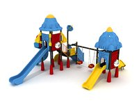 kid play playground 3D