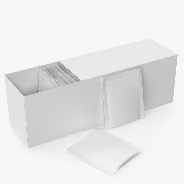 tea packaging 3D model