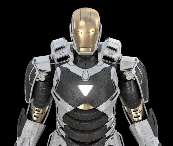 3D avengers gemini iron model