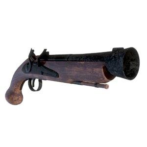 flintstock pistol model