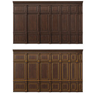wooden panels wood wall model