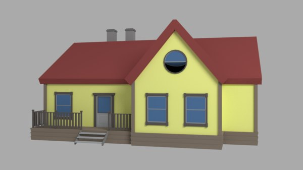 simple house model