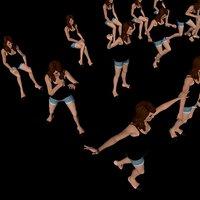 girl 3 - body 3D model