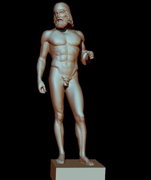 riace di statue model
