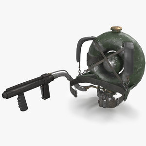 3D flamethrower lifebuoy