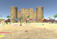 beach props 3D model