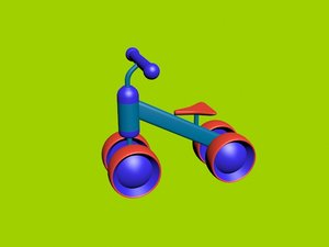 3D baby bike