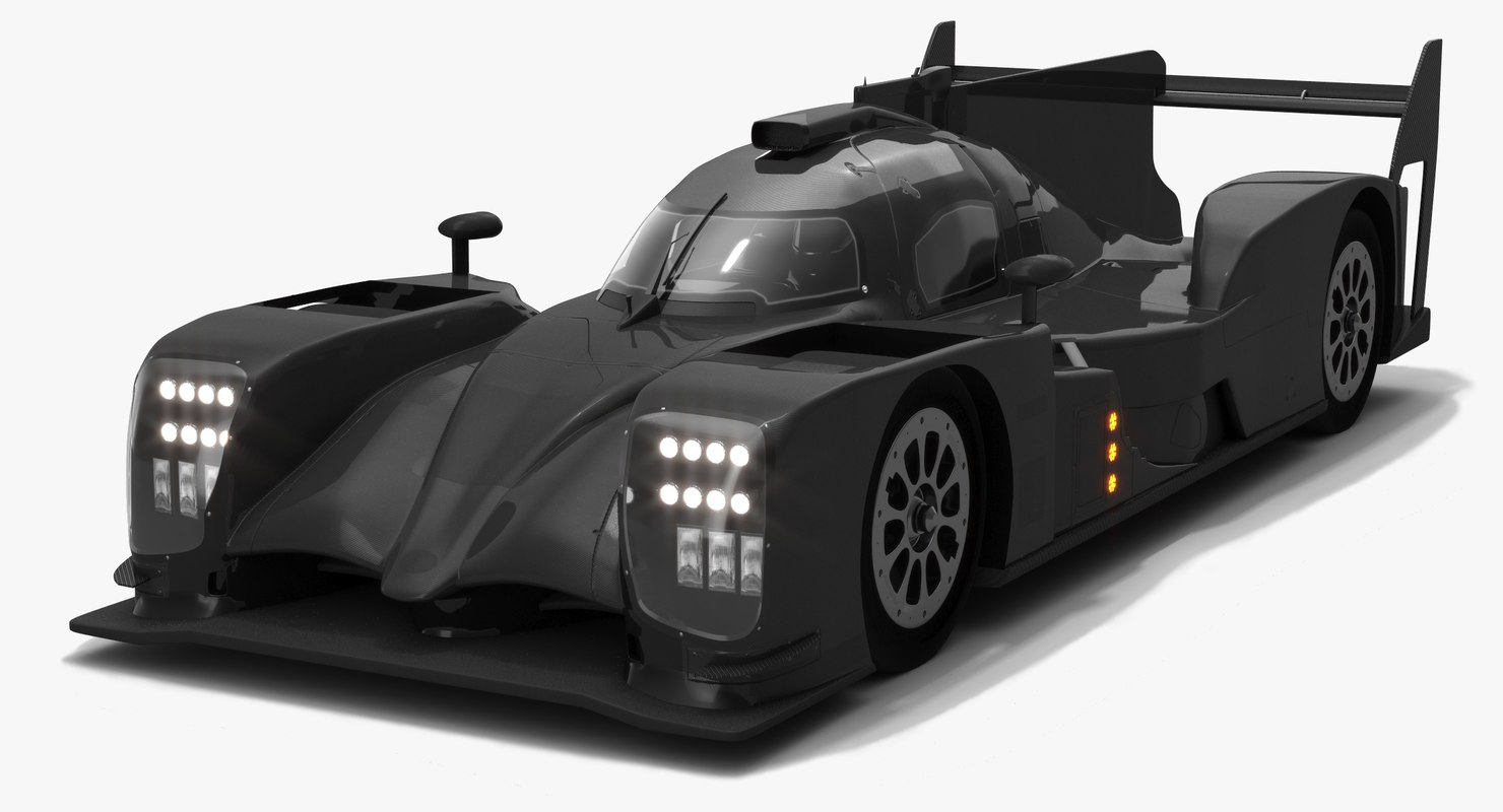 3D toyota ts050 hybrid lmp1 model