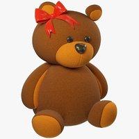stuffed toy bear model